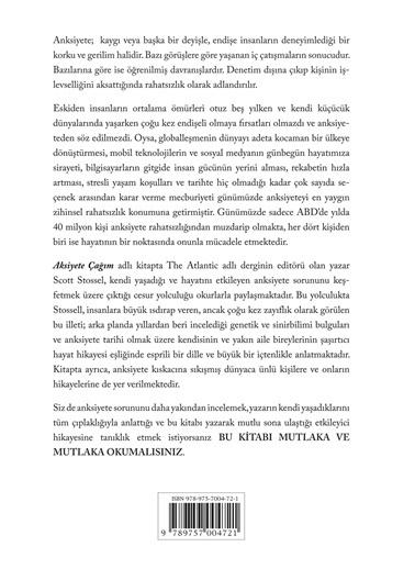 Boyner Yayınları Boyner Yayınları - Anksiyete Çağım Renksiz